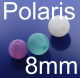 Polariskugel, Perle 8mm
