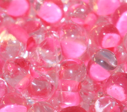 "Farfalle ""crystal-pink"" 3,2x6,5mm"