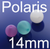 Polariskugel, Perle 14mm